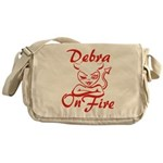 Debra On Fire Messenger Bag