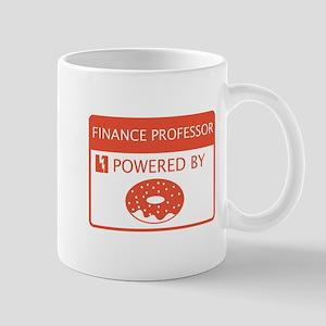 Finance Professor Powered by Doughnuts Mug