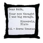 NASA Mom 2 Throw Pillow