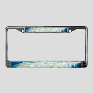 Lightening License Plate Frame