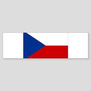 Czech Republic Sticker (Bumper)