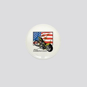 All American Chopper Mini Button