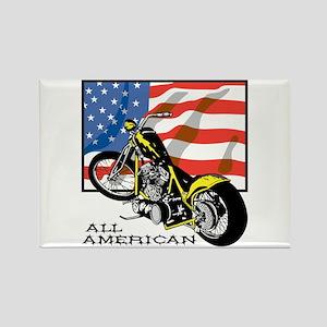 All American Chopper Rectangle Magnet
