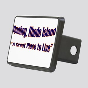 Quahog - A Great Place Rectangular Hitch Cover