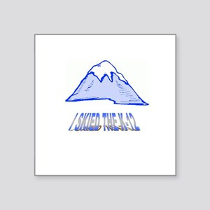 "MOUNTAIN Square Sticker 3"" x 3"""