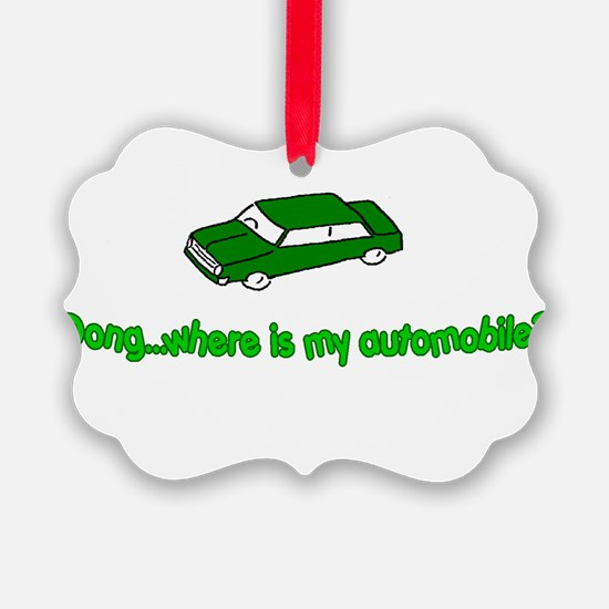 DONG - AUTOMOBILE Ornament