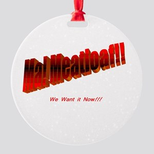 meatloaf Round Ornament