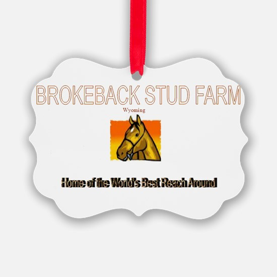 brokeback farm Ornament