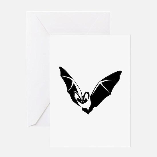 Bat Greeting Card
