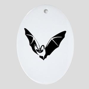Bat Ornament (Oval)