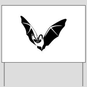 Bat Yard Sign