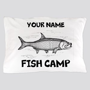Custom Fish Camp Pillow Case
