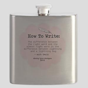 Mark Twain Write Word Flask
