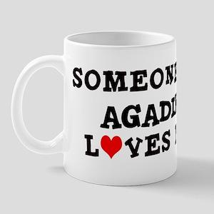 Someone in Agadir Mug
