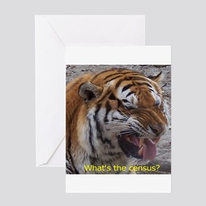 What's the census? Greeting Card