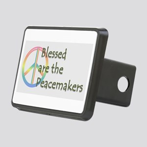 Blessed are the Peacemakers Rectangular Hitch Cove
