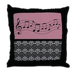 Music Band Orchestra Choir Gift Throw Pillow