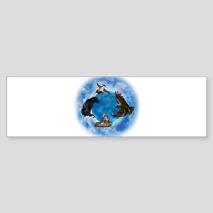 Medicine Wheel Sticker (Bumper)