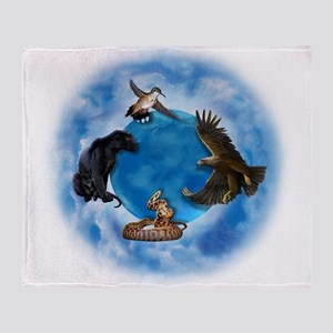 Medicine Wheel Throw Blanket