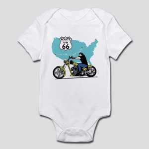 Route 66 Biker Infant Bodysuit