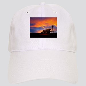 God is Watching Sunset Cap