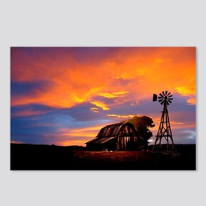 God is Watching Sunset Postcards (Package of 8)