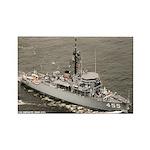 USS IMPLICIT Rectangle Magnet