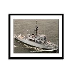 USS IMPLICIT Framed Panel Print