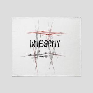 Martial Arts Integrity Throw Blanket