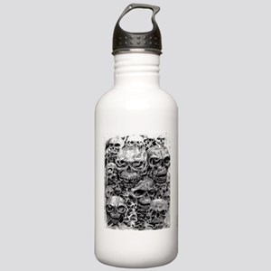 skulls dark ink Stainless Water Bottle 1.0L