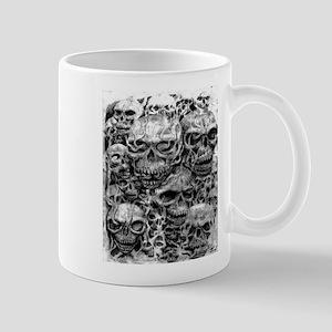 skulls dark ink Mug