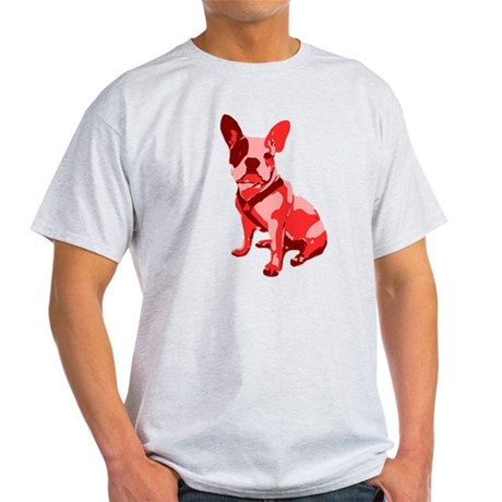 Bulldog Retro Dog Light T-Shirt