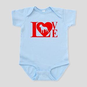PIT BULL LOVE Infant Bodysuit