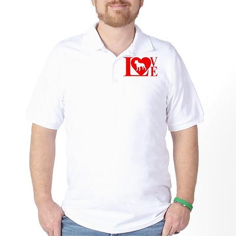 PIT BULL LOVE Golf Shirt