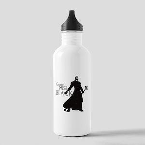 Good Guys Wear Black Stainless Water Bottle 1.0L