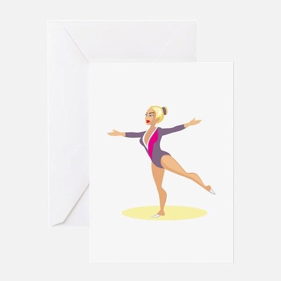 Gymnastics Greeting Card