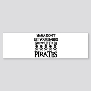 BABY PIRATES Bumper Sticker