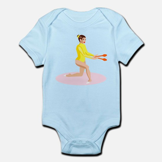Gymnastics Infant Bodysuit