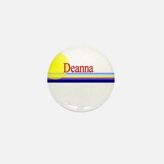 Deanna Mini Button