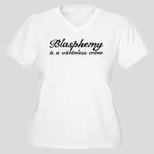 Blasphemy: Victimless Crime Women's Plus Size V-Ne