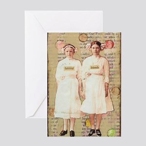Faithful Friends Greeting Cards