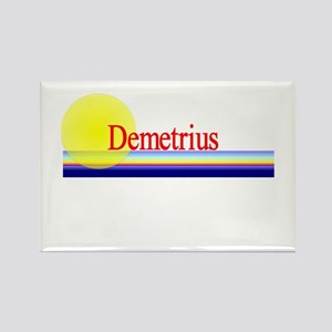 Demetrius Rectangle Magnet