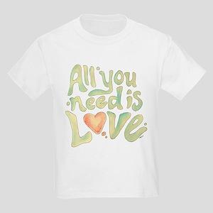 All you need Kids Light T-Shirt