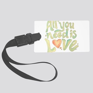 All you need Large Luggage Tag