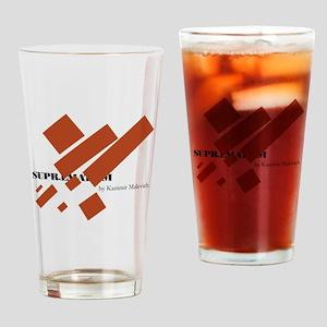 Suprematism by Kazimir Malevich Drinking Glass