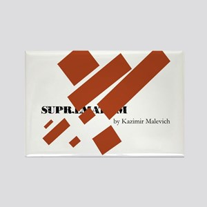 Suprematism by Kazimir Malevich Rectangle Magnet