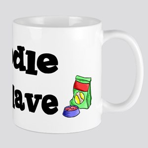 Poodle FOOD SLAVE Mug