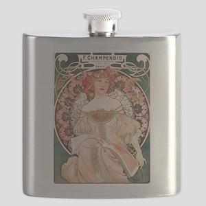 Alphonse Mucha Reverie Flask