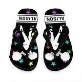 Cheerleading personalized Flip Flops