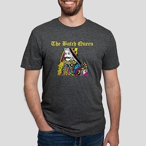THE BUTCH QUEEN LOGO Mens Tri-blend T-Shirt
